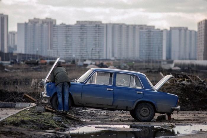 Прощай, социализм: Москва 1980-х годов в объективе британского фотографа