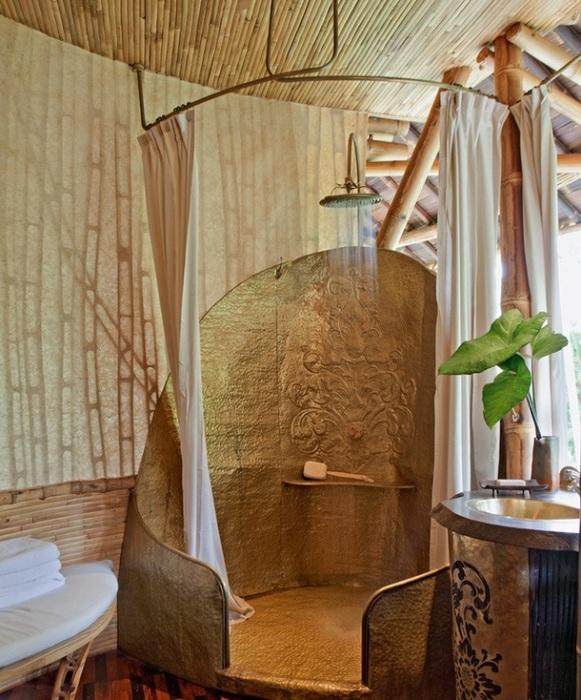 Сплошные стены - только в спальне и санузле. /Фото:admagazine.ru