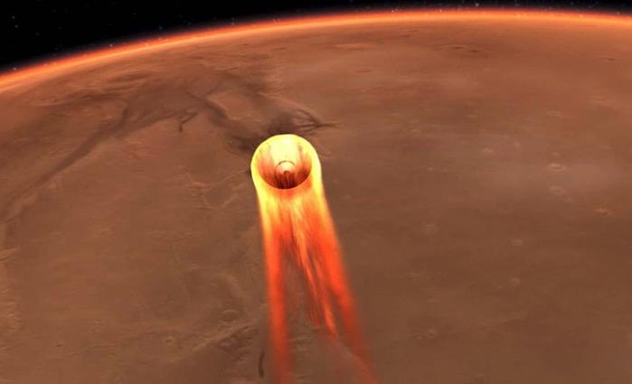 Зонд NASA InSight успешно совершил посадку на поверхность Марса