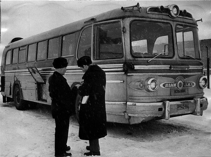Советский газотурбинный автобус НАМИ-053