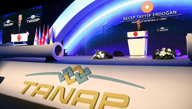 В Турции открыли газопровод в обход России