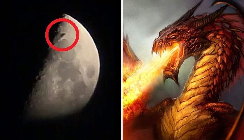 Летящий над Москвой «дракон»…