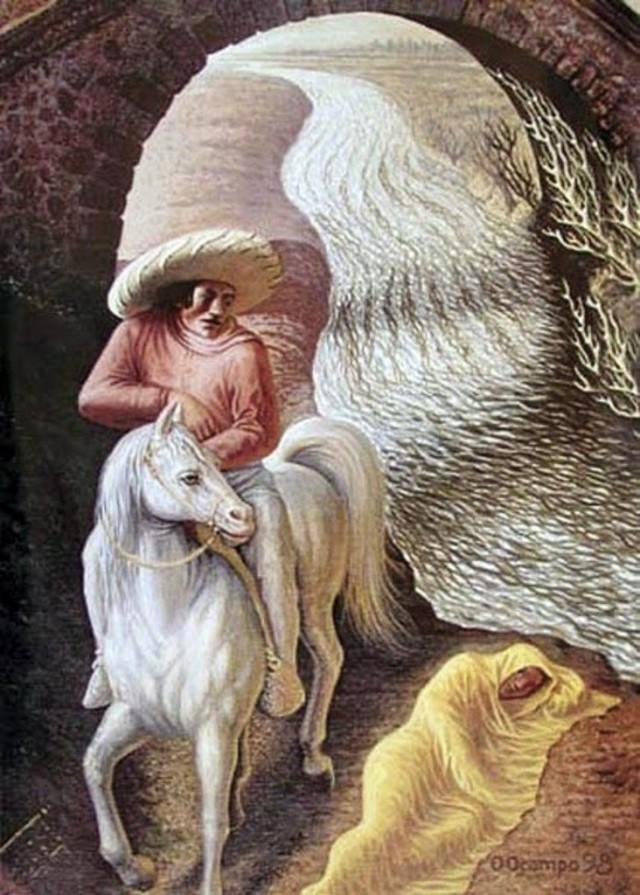 Метаморфические картины Октавио Окампо