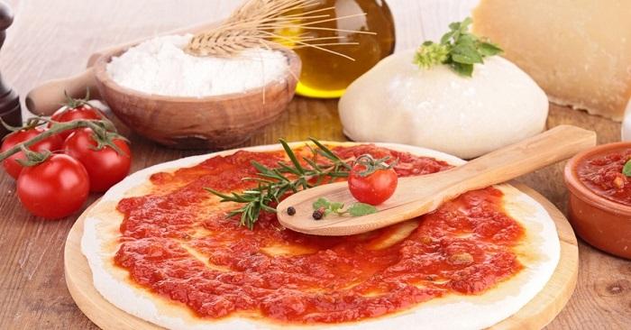 Рецепт тонкого дрожжевого теста для пиццы