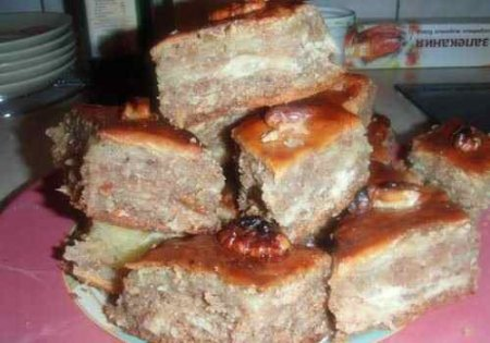 пахлава со сметаной рецепт с фото