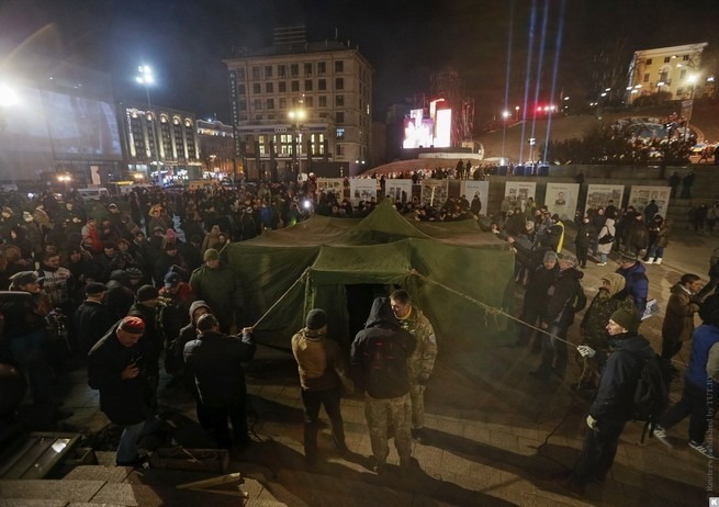 Жажда крови по-украински: Порошенко выступил с речью по несостоявшемуся Майдану-2017