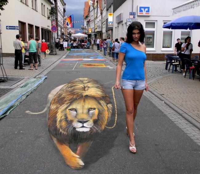 Искусство, живущее на тротуарах
