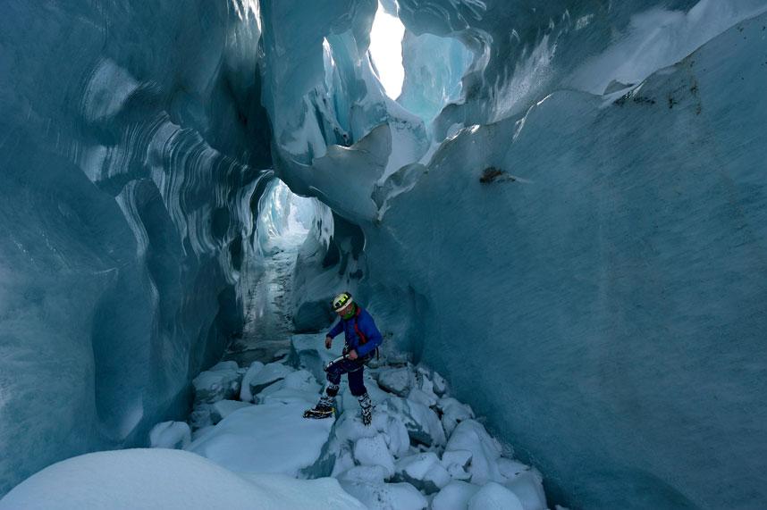 gorner 11 Ледяные пещеры ледника Горнер