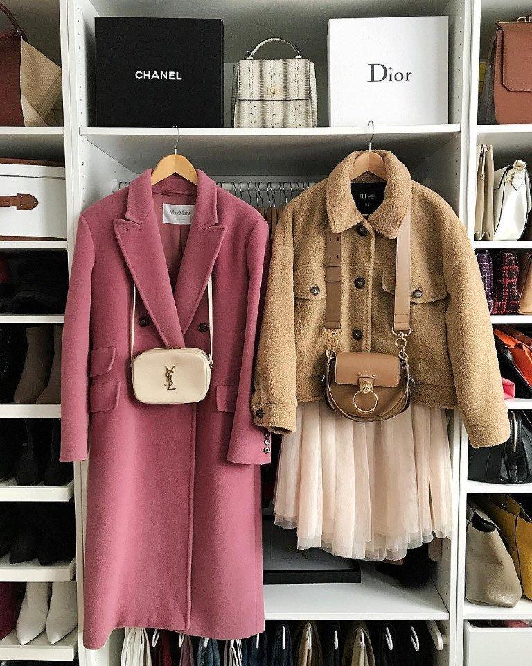 Принципы сочетания верхней одежды и сумки