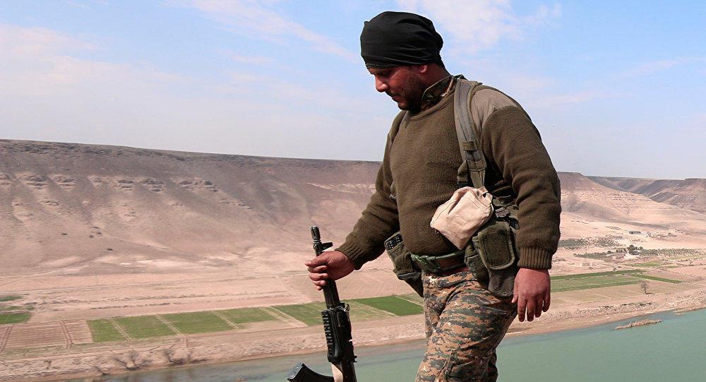 «Военное преступление»: бывший офицер армии США обвинил Пентагон в поставках оружия в Сирию