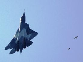 Российский истребитель 5-го поколения Т-50. Стремительный взлёт (фото)