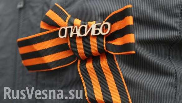 Битва за Георгиевскую ленту в Беларуси (ВИДЕО)