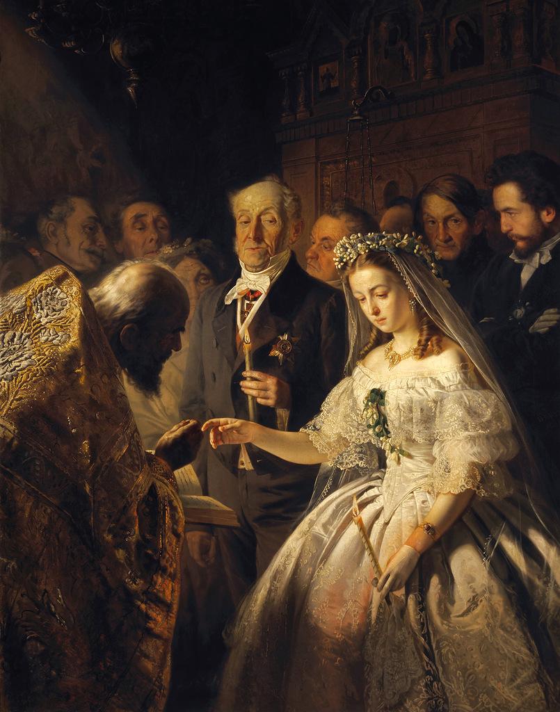 """""""Неравный брак"""". Портрет невесты спустя 44 года."""