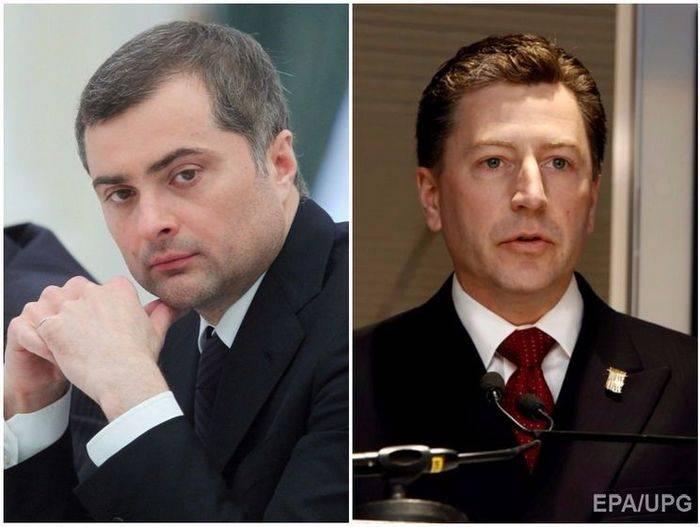 Сурков и Волкер договорились продолжить совместную работу по Украине