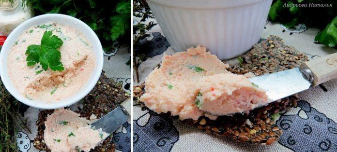 Прекрасная альтернатива крабовому салату — паштет «Крабовый»