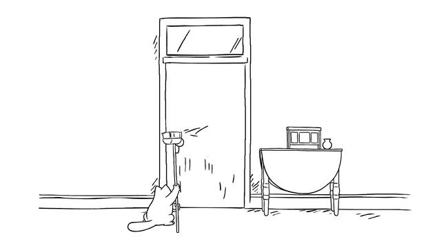 Кот Саймона 42 серия Сим-Сим, откройся!