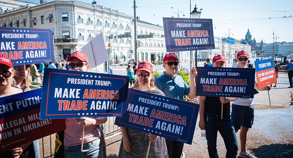 Хельсинки ожидает незначительные митинги во время саммита Трамп-Путин
