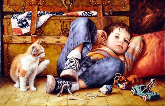 Уютные картины, которые переносят в беззаботный мир детства