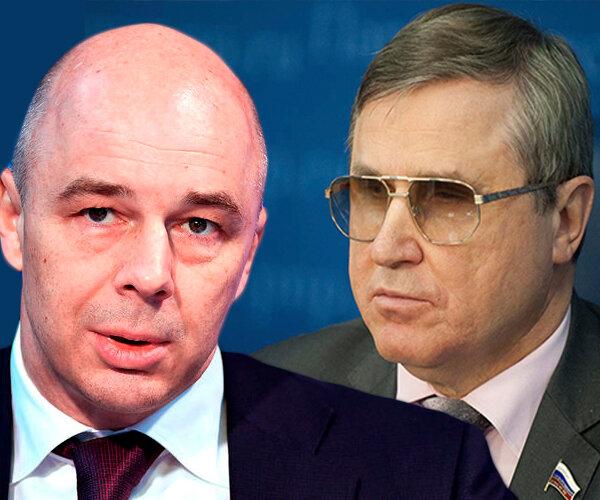 Смолин: почему министр Силуанов против того, чтоб российские деньги развивали нашу экономику?