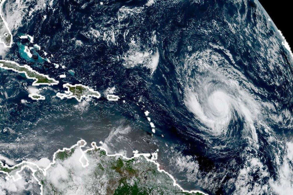 """Гидрометцентр: Ураган """"Ирма""""…"""