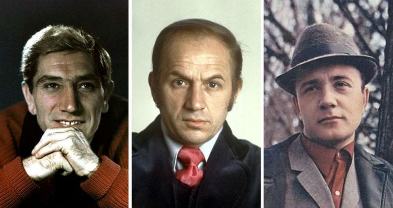 Актера СССР, которые снимались чаще всего