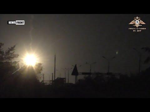 Украинские боевики ведут огонь в районе промзоны Авдеевки