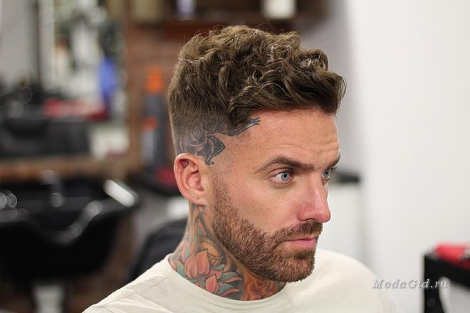 Haircuts for men curly hair