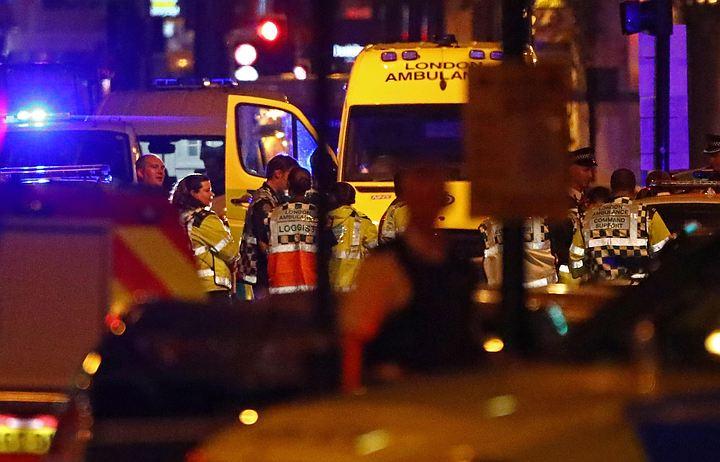 СМИ: Жертвами террориста в Лондоне могли стать двое верующих
