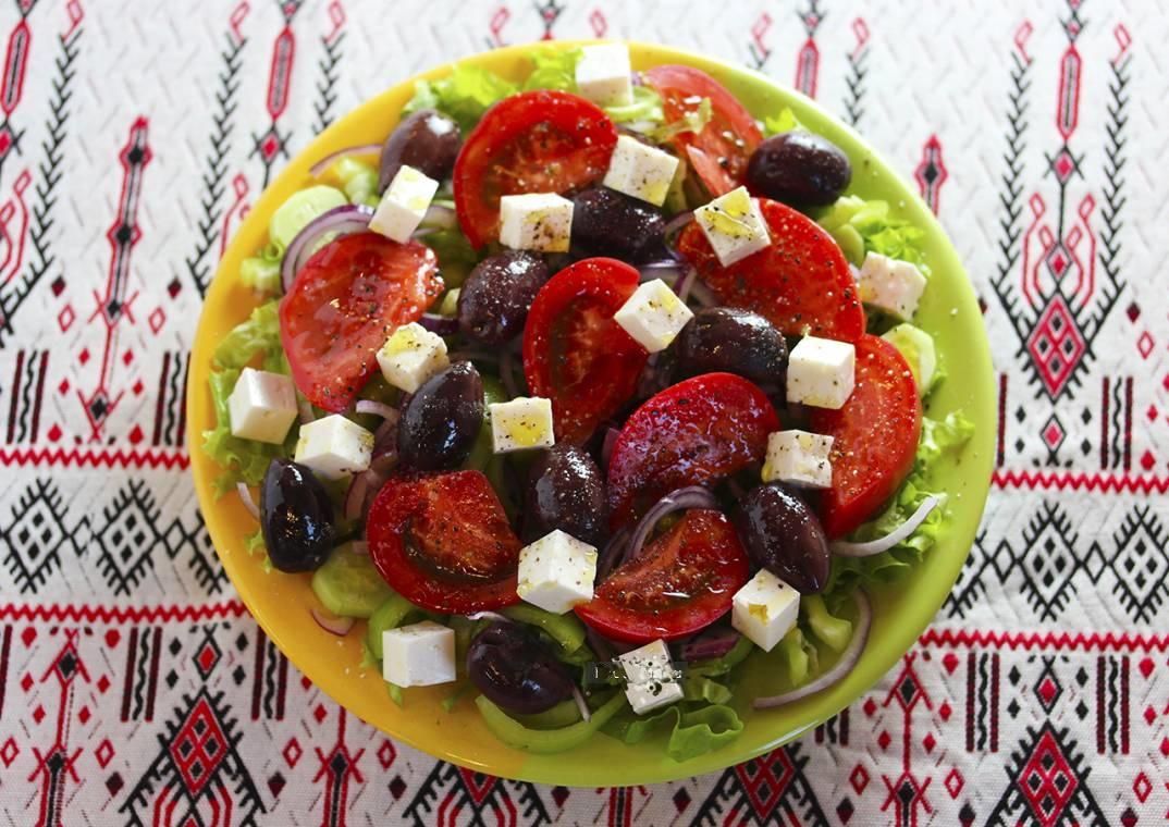 Хориатики, или греческий салат