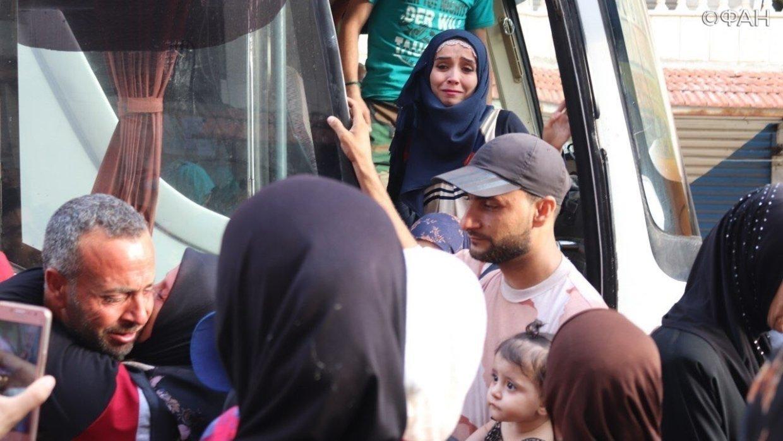 Блокада окончена: из сирийск…