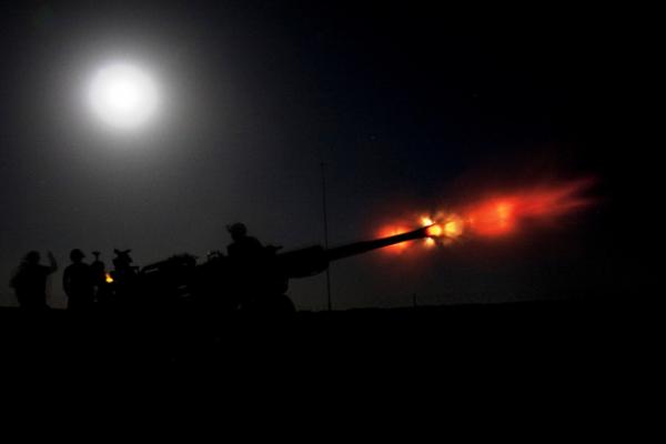 ВС Украины открыли огонь по территории ДНР