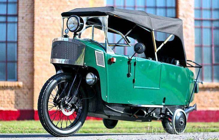 Удивительные монокары: двухколесные автомобили, которые не стоит путать с мотоциклами