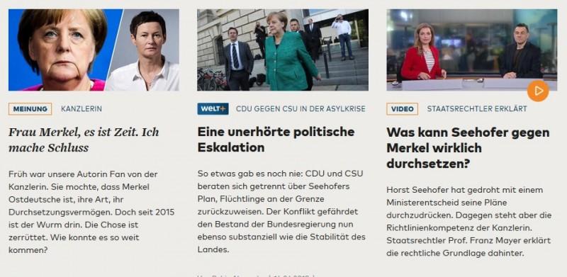 Время Меркель подошло к концу