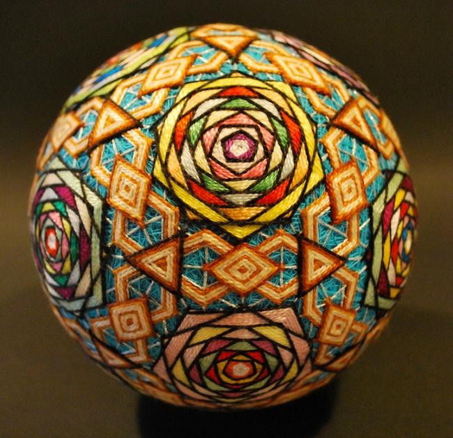 Древнее искусство «тэмари»