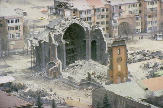 Землетрясение в 1988 году в Армении: самое разрушительное в истории СССР