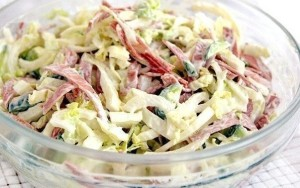 ТОП-6 вкусных и нежных салатов с пекинской капустой.