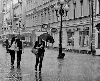 Почти половина месячной нормы осадков выпадет в Москве за три дня
