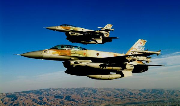 """Истребитель ВВС Израиля F-16 """"Sufa"""""""
