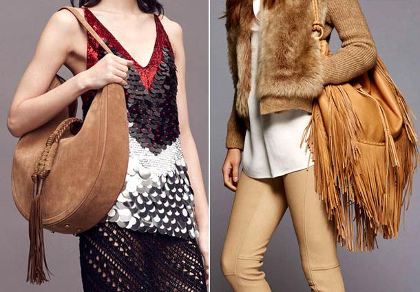 Модные сумки с бахромой 2017, Altuzarra и Ralph Lauren