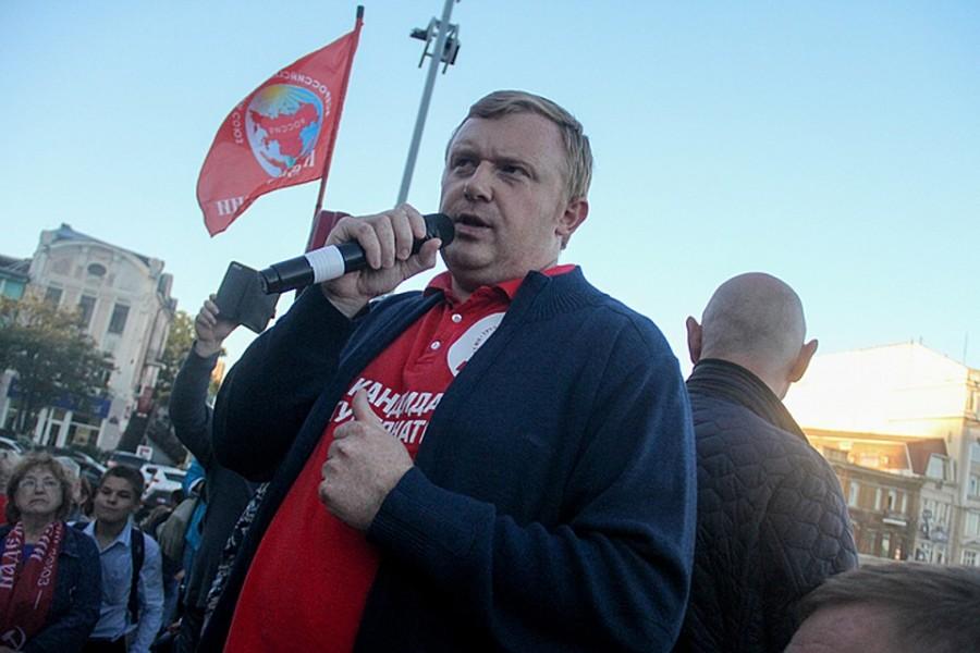 КПРФ не будет участвовать в выборах губернатора Приморья