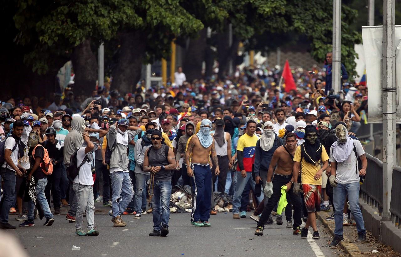 Венесуэла — плацдарм для кровавых игрищ США. Ростислав Ищенко