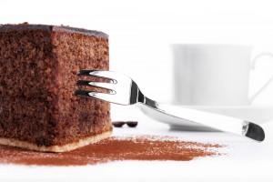 Шоколадный бисквит за 5 минут