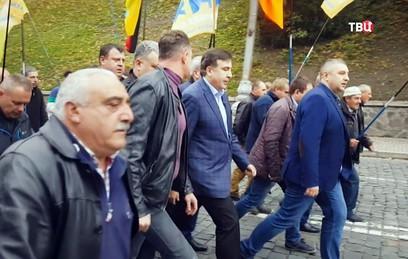 Саакашвили потребовал от Порошенко уйти в отставку
