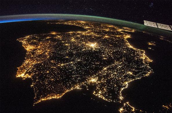 Загрязнение светом: Земля стала ярче на 2% за четыре года