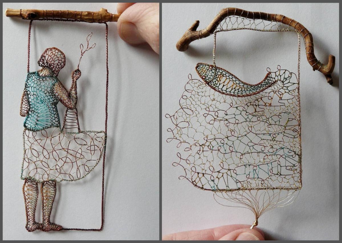 Кружевные миниатюры талантливой художницы Агнес Херцег