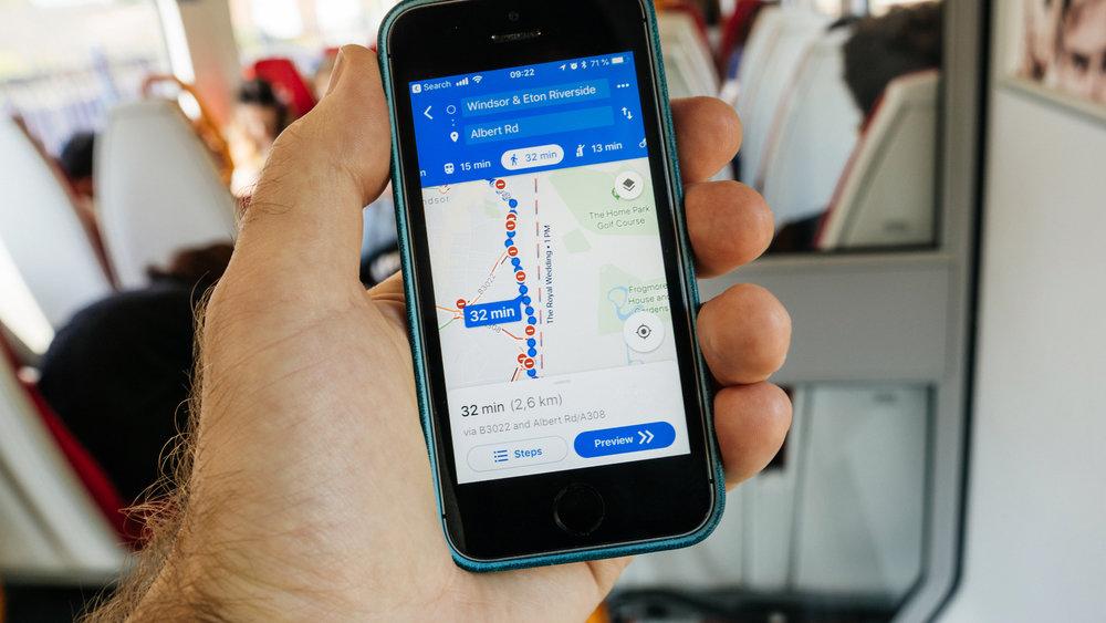 В картах Google появилась удобная функция для пассажиров