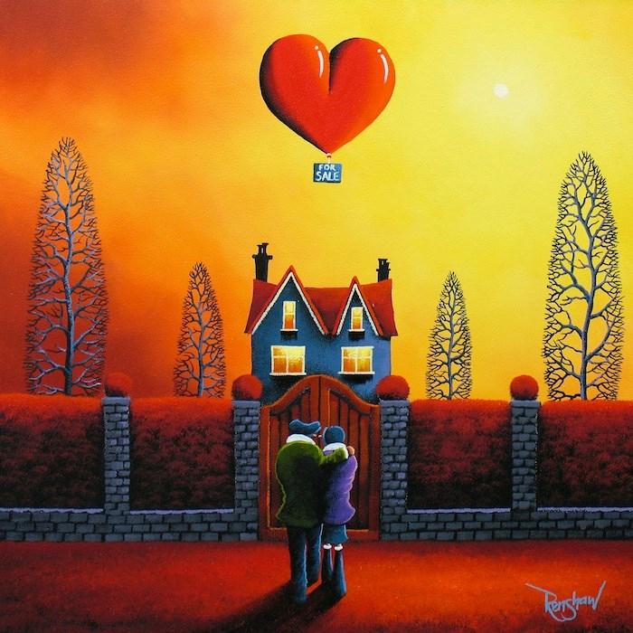 David Renshaw 6600 600 Романтические и яркие картины Дэвида Реншоу (David Renshaw)