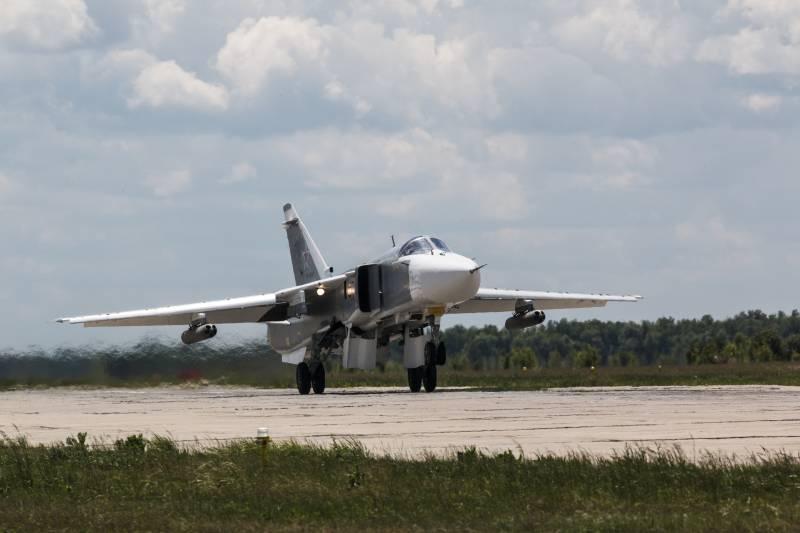 Этот морально и физически устаревший Су-24…