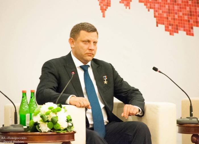 Александр Захарченко: Наша главная цель — возвращение в Россию