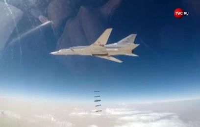 Российские Ту-22 и подлодка нанесли мощный удар по боевикам в Сирии